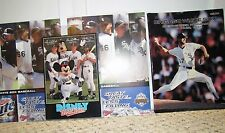 4 MLB CHICAGO WHITE SOX PIECES-1991 PROGRAM,DISNEY, 2006 SCORECARD