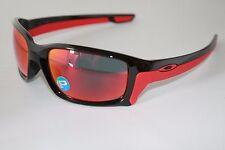 Oakley StraightLink POLARIZED Sunglasses OO9331-08 Polished Black/Torch Iridium