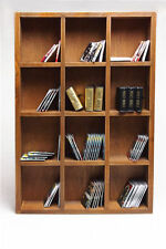 """4 Layers 1/6 Wooden Book Case Bookshelf Scenery DIY Accessories for 12"""" Figures"""