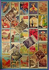 More details for postcards, set of 30 new stunning japanese repro travel posters, japan 51l