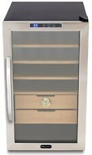 Whynter Stainless Steel 2.5 cu.ft. Cigar Cooler Humidor CHC-251S Humidor- NEW