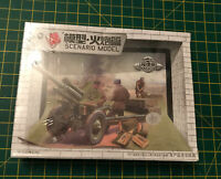 SCENARIO 1/72 Scale Model Kit US M1938 Russian M-30 With Crew NEW & SEALED