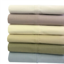 King 4PC 100% Cotton Soothing and Super Soft Deep Pocket Percale Sheets Set
