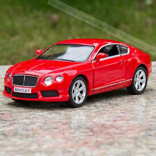 Model cars Toys Bentley continental 1:36 Pull-back motor Red Gifts Alloy Diecast