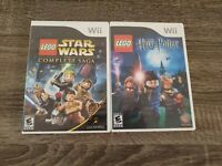 LEGO Harry Potter: Years 1-4 (Nintendo Wii, 2010) & LEGO Star Wars - TESTED