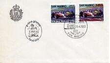 San Marino 1983 FDC AASFN Gran Premio San Marino di Formula Uno