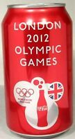 MT UNOPEN 12oz Can USA Coke Coca-Cola 2012 London Summer Olympics Commemorative