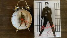 ELVIS PRESLEY  - JAILHOUSE ROCK - (small) WEKKER / ALARM CLOCK - NEW