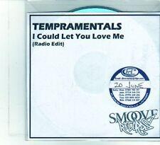 (DU931) Tempramentals, I Could Let You Love Me - DJ CD
