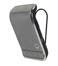 Motorola Roadster 2 TZ710 Bluetooth Wireless Car Speakerphone w/ FM Transmitter
