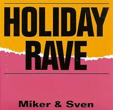 MIKER & SVEN - holiday rave CDS!! 2TR HAPPY HARDCORE