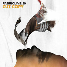 CUT COPY Fabriclive. 29 NEW CD DJ Mixed UK FABRIC58 electronic rock pop electro