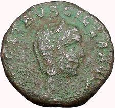 Herennia Ancient Viminacium MOESIA Roman Coin  Bull & Lion Legion RARE i33977