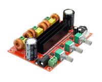 DC9-24V TPA3116 2.1 Digital Audio Amplifier Board  Subwoofer Amp 2*50W+100W