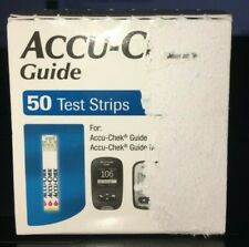 Accu-chek Guide Diabetic 50 Test Strips exp 2/2021 Ships Free