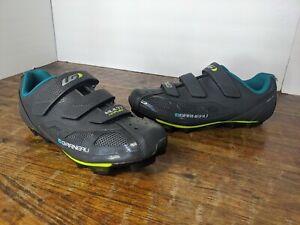 New! Garneau Women's Multi Air Flex Gray Cycling Biking Shoes Size EU 41 US 10