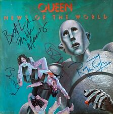 Queen - News Of The World (USA LP) (VG-/G-VG) (Fully Signed)