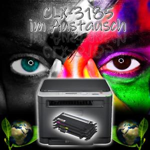 SAMSUNG 3in1 Farblaserdrucker CLX-3185 inkl. neue Toner im Austausch