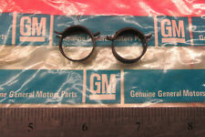 NOS RARE GM 1967-1970 Camaro Corvette PCV & Vacuum Brake Hose Pinch Clamps black