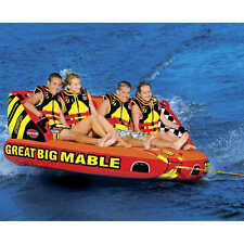 Sportsstuff Great Big Mable 4 Rider Inflatable Tube Water Boat Towable - 53-2218