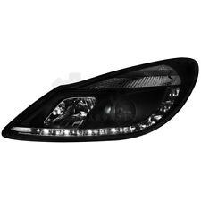2x D-LITE Scheinwerfer Opel Corsa D 06- LED Tagfahrlicht R87 black 6X6