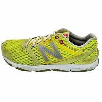 New Balance Womens 730 V1 W730YB1 Yellow White Running Shoes Lace Up Size 7.5 B