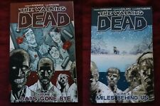 The Walking Dead Comics Volume 1 & 2 Very Fine Condition Days Gone Bye Miles