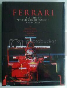 Ferrari All The F1 World Championship Victories Motor Sport Car Book 1998