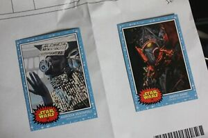 Topps Star Wars Living Set Bundle - Aurodia Ventafoli (#185) & Darth Bane (#186)