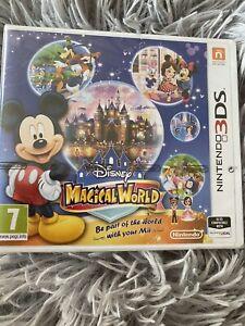 Disney Magical World Nintendo 3ds Brand New Sealed