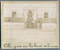 Tunisie, La Goulette (حلق الوادي), Villa Juive sur les bords de la mer  Vintage