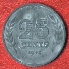 Niederlande 25 Cent 1942 (Besatzungszeit)