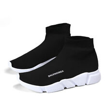 High-top Men's Socks Shoes Casual Breathable Sneakers Running Jogging Shoes Gym