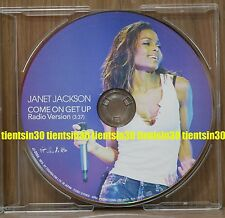 JANET JACKSON Come on Get Up early 2001 Japan promo only picture CD JJ-0004