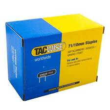 2000 Tacwise Type 71 Series 10mm Staples for the A7116V Air Staple Gun Stapler