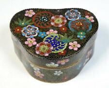 More details for antique japanese fine cloisonne box meiji period late 19thc