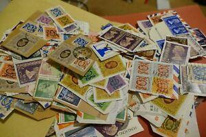 643 Hong Kong postage stamps philately philatelic postal kiloware mail