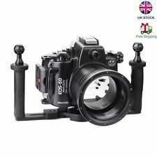 SeaFrogs 40M Underwater Camera Housing Case for Canon 5D III IV /w Diving Tray