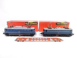 CS660-2# 2x Trix Express H0/DC/3L E-Lok, leichte Mängel, DB: E 10 138 + E 10 003