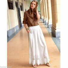 Full Length Cotton Tall Maxi Skirts for Women