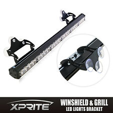 "Xprite Adjustable Bracket For 18"" 27"" 31.5"" 35.5"" LED Warning Strobe Advisor Bar"
