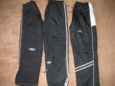 3 Pairs Large Black W/Stripe Hockey Coaches/Warm-Up Pants Easton/Kewl/Mission
