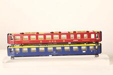 MÄRKLIN H0 Repuesto 2x blechoberteil Metal DSG ROJO + 1.kl.blau (37522)