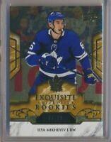 2019-20 Exquisite Collection Rookies R1 Ilya Mikheyev /19 Toronto Maple Leafs