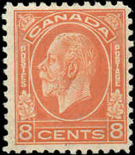 Mint H-ReGum Canada 1932 F+ Scott #200 8c King George V Medallion Issue Stamp