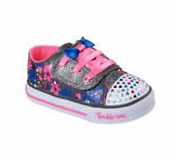 Glam Slam  BLK C16 *New Girl/'s Toddler Skechers 10668N Twinkle Toes