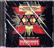 ROADRUNNER RECORDS The Best of 3 Decades CD NEW Sepultura/Slipknot/Megadeth/Rush