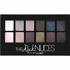 MAYBELLINE The Rock Nudes Eyeshadow Palette 9.6g - NEW Sealed
