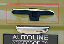 TO FIT NISSAN PRIMASTAR 02-14: CHROME REAR DOOR HANDLE UPPER TAILGATE TRIM COVER