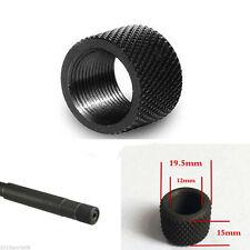 Hunting Thread Protector 1/2-28 Muzzle Brake Black Oxide Steel 1/2x28 (1/2-28)